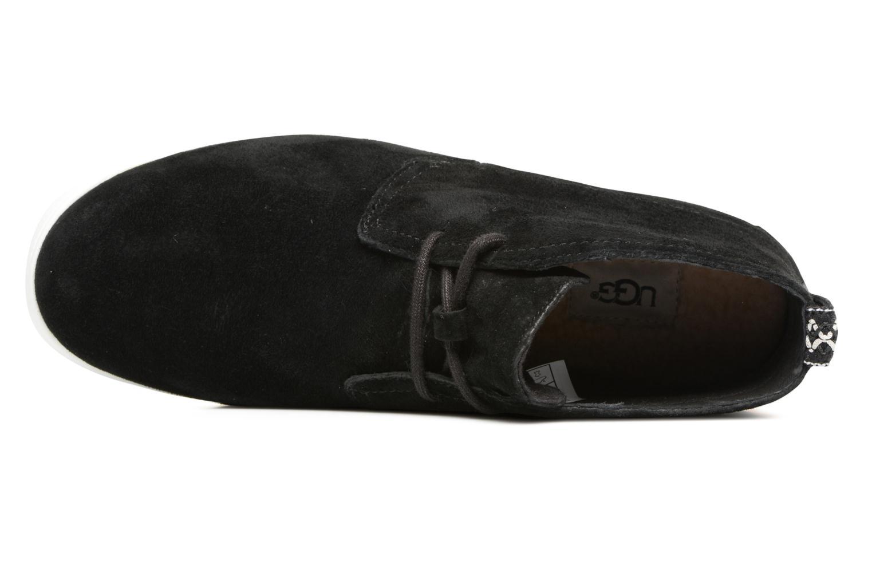 Chaussures à lacets UGG Freamon Noir vue gauche