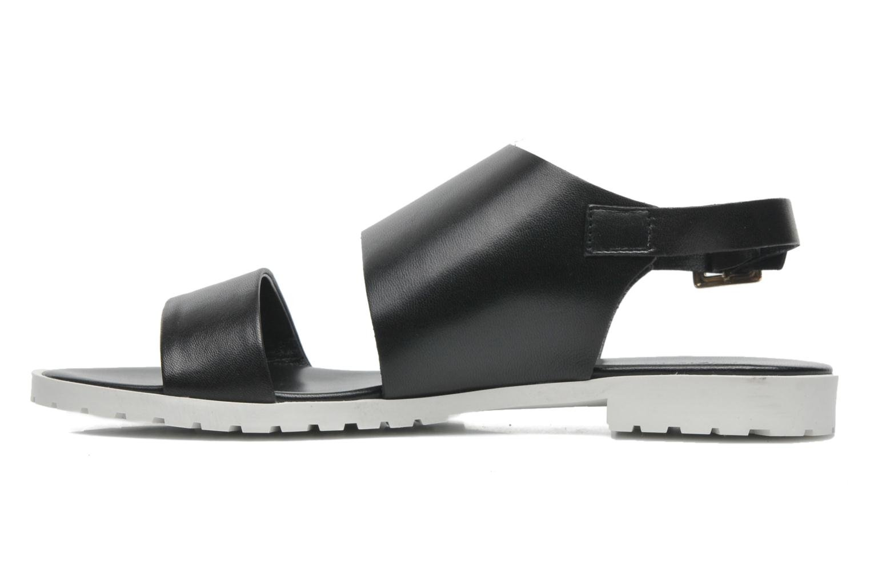 Sandales et nu-pieds Fabio Rusconi Lunaire Noir vue face