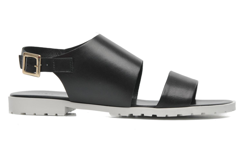 Sandales et nu-pieds Fabio Rusconi Lunaire Noir vue derrière