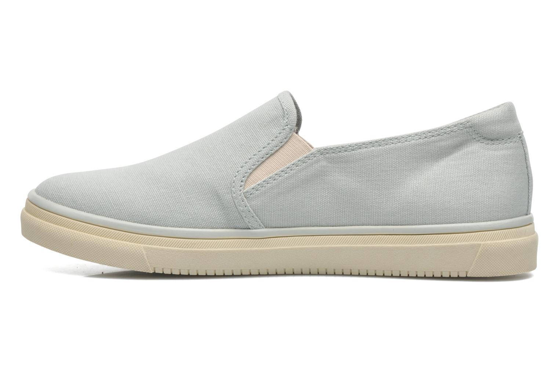 Sneakers Esprit Yendis slip on 040 Groen voorkant