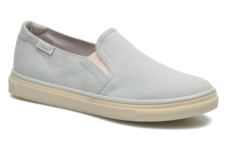 Sneakers Esprit Yendis slip on 040 Groen detail