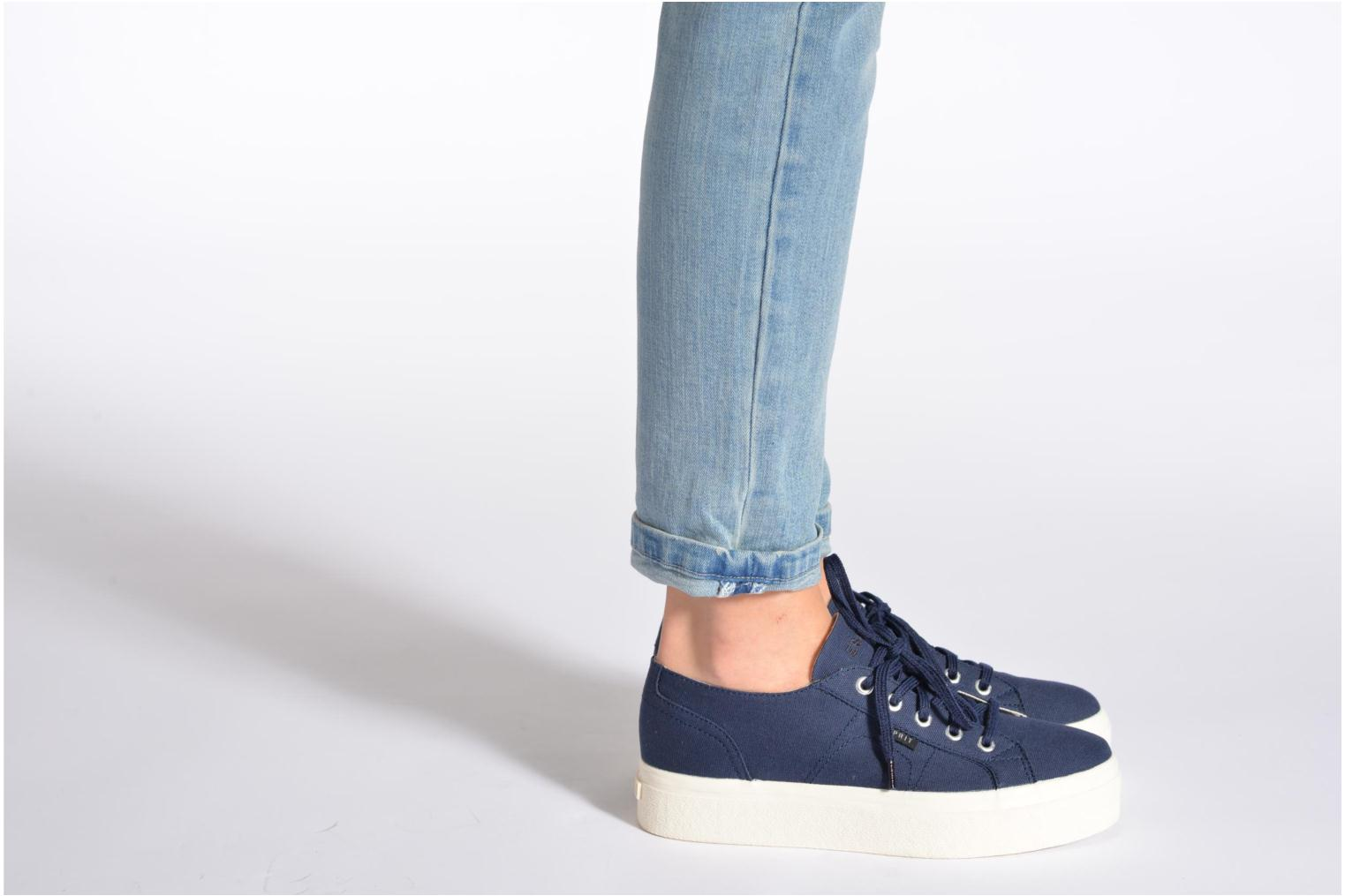Trainers Esprit Starry Lace up 045 Blue view from underneath / model view