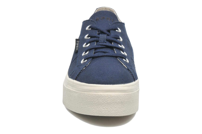 Sneaker Esprit Starry Lace up 045 blau schuhe getragen