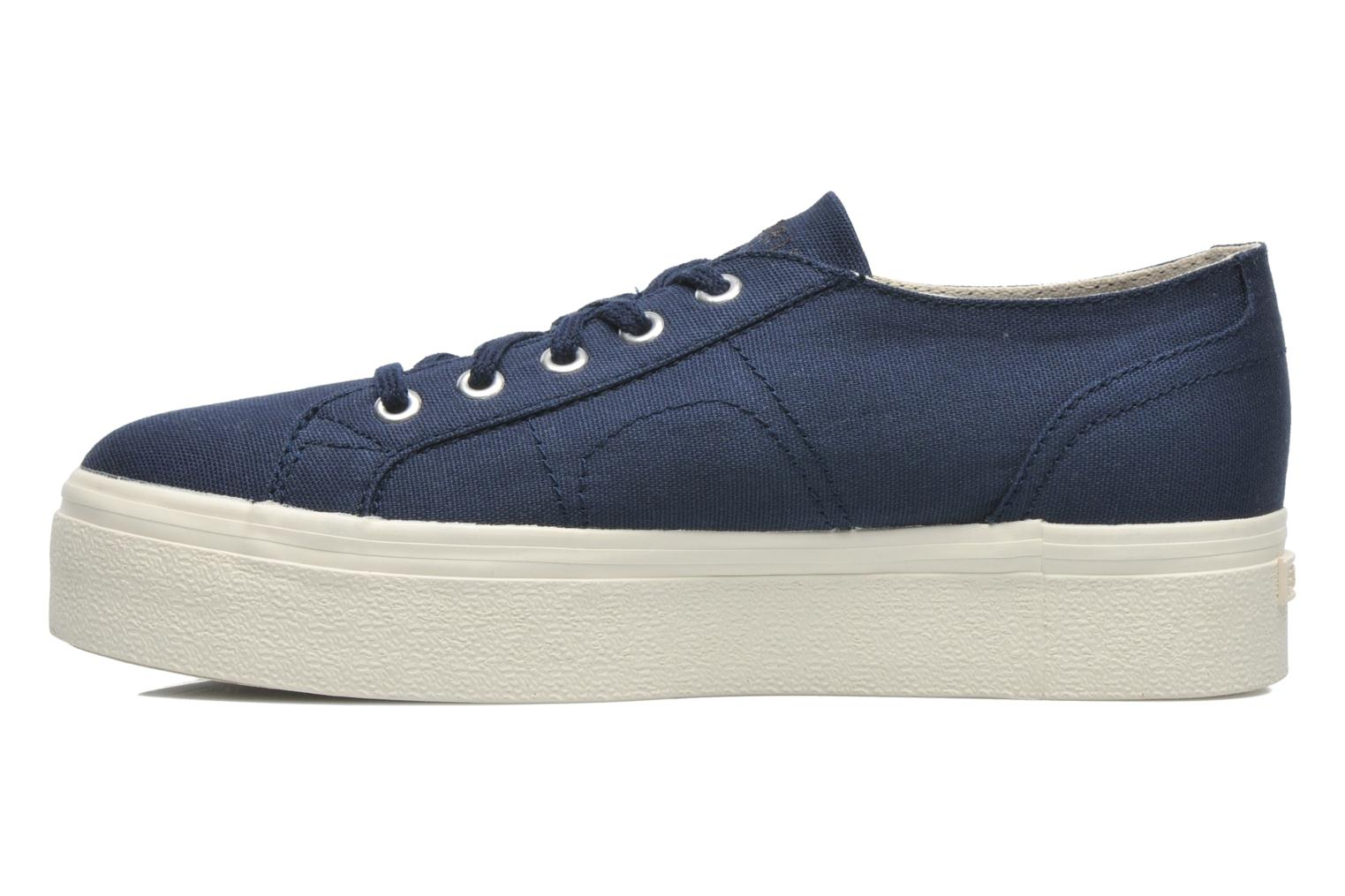 Trainers Esprit Starry Lace up 045 Blue front view