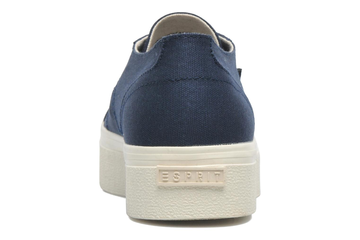 Trainers Esprit Starry Lace up 045 Blue view from the right