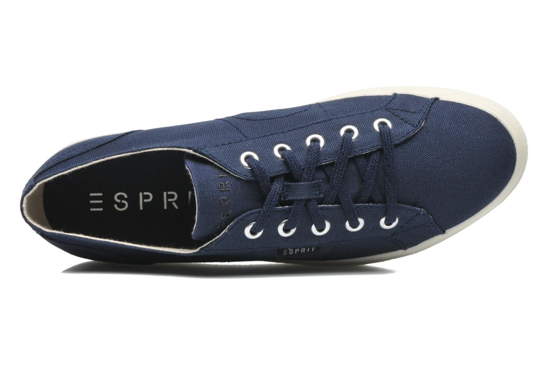 Sneaker Esprit Starry Lace up 045 blau ansicht von links