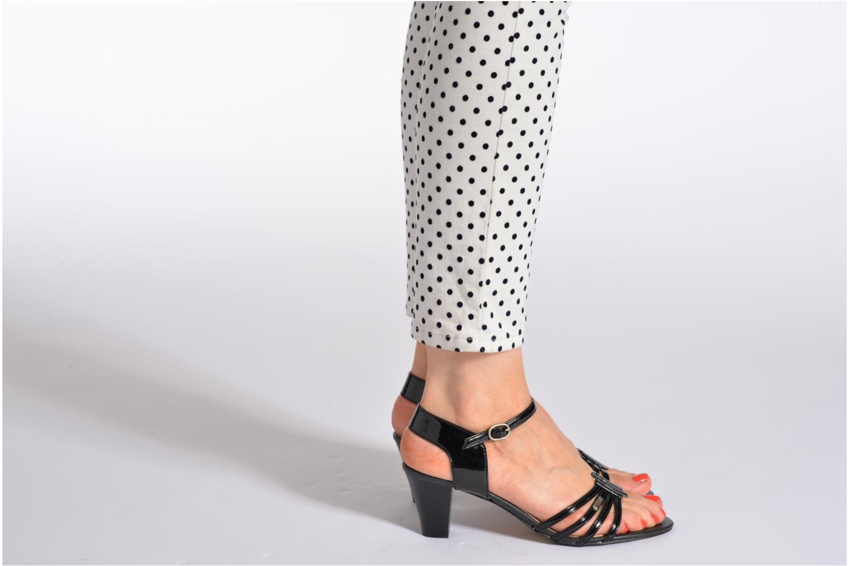 Sandales et nu-pieds Esprit Tessa Sandal 022 Bleu vue bas / vue portée sac