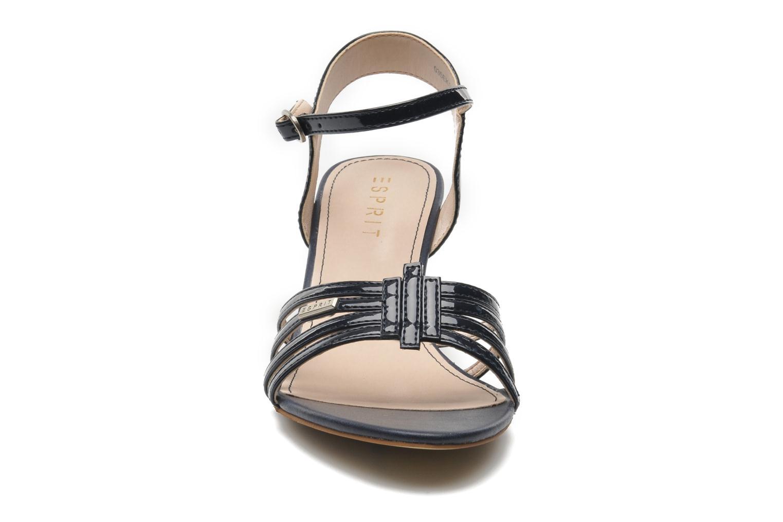 Sandales et nu-pieds Esprit Tessa Sandal 022 Bleu vue portées chaussures