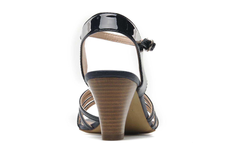 Sandales et nu-pieds Esprit Tessa Sandal 022 Bleu vue droite