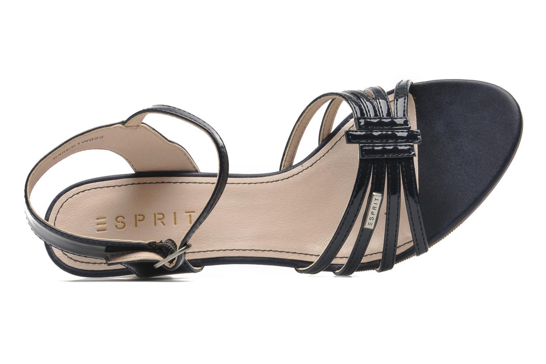 Sandales et nu-pieds Esprit Tessa Sandal 022 Bleu vue gauche