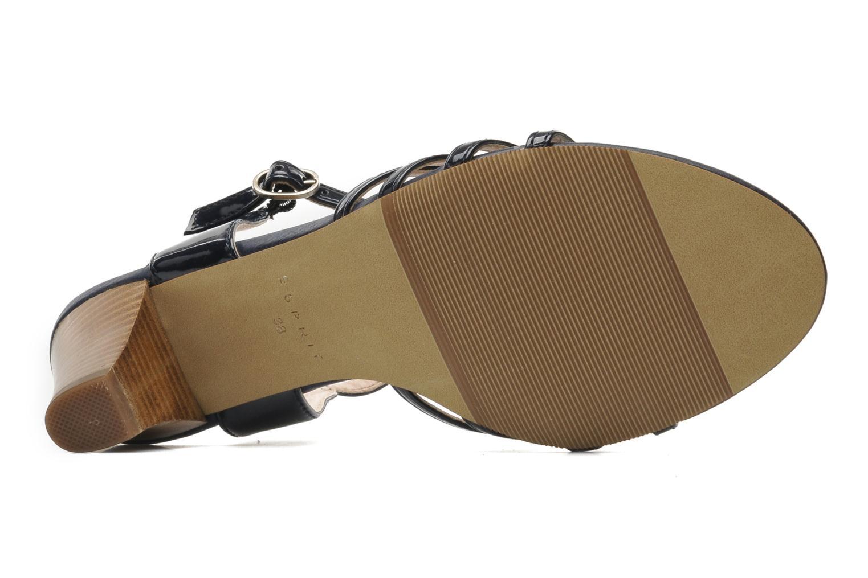 Sandales et nu-pieds Esprit Tessa Sandal 022 Bleu vue haut
