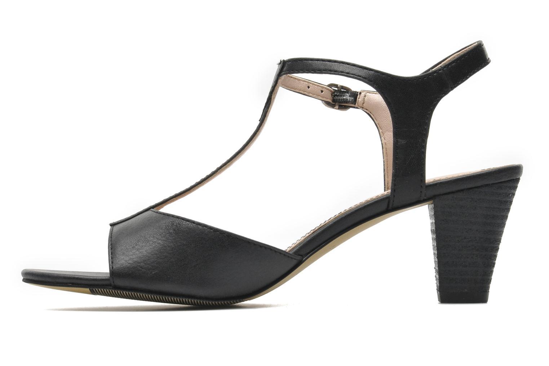 Sandales et nu-pieds Esprit Tessa Sandal 020 Noir vue face