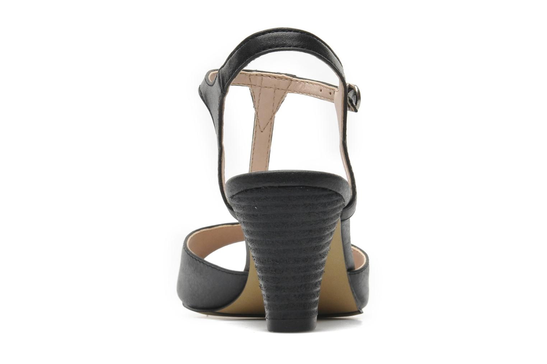 Sandales et nu-pieds Esprit Tessa Sandal 020 Noir vue droite