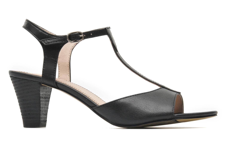 Sandalen Esprit Tessa Sandal 020 Zwart achterkant