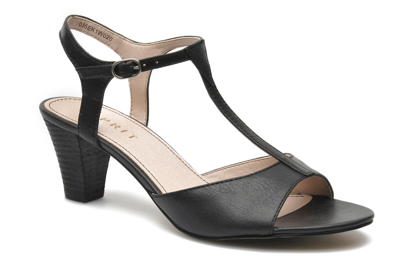 Sandales et nu-pieds Esprit Tessa Sandal 020 Noir vue détail/paire