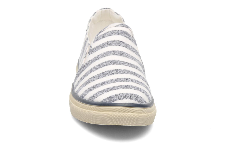 Baskets Esprit Yendis Striped 032 Bleu vue portées chaussures