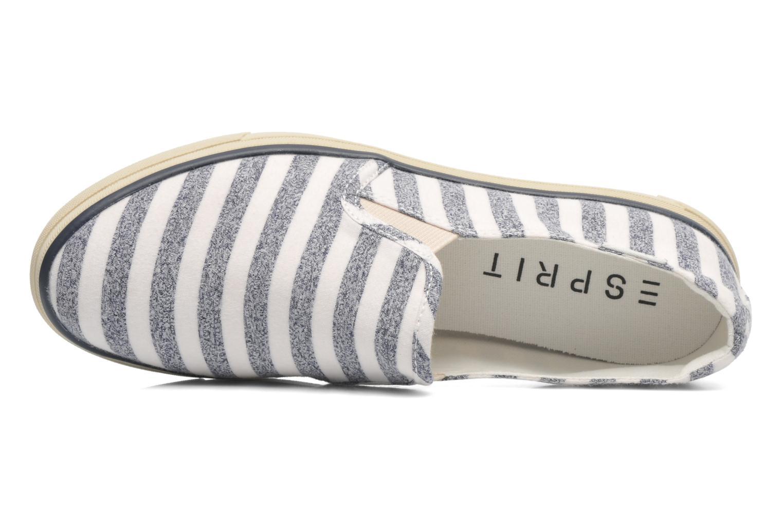 Baskets Esprit Yendis Striped 032 Bleu vue gauche