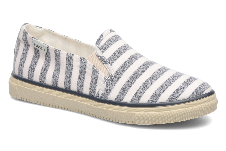 Baskets Esprit Yendis Striped 032 Bleu vue détail/paire