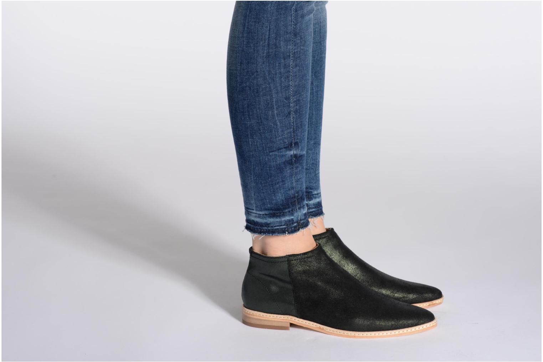 Bottines et boots H By Hudson Shift Marron vue bas / vue portée sac