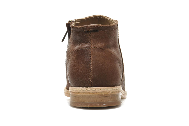 Bottines et boots H By Hudson Shift Marron vue droite