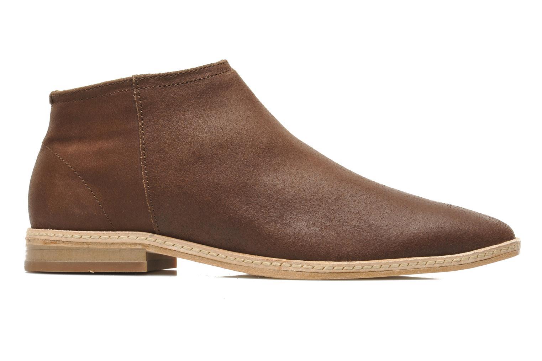 Bottines et boots H By Hudson Shift Marron vue derrière