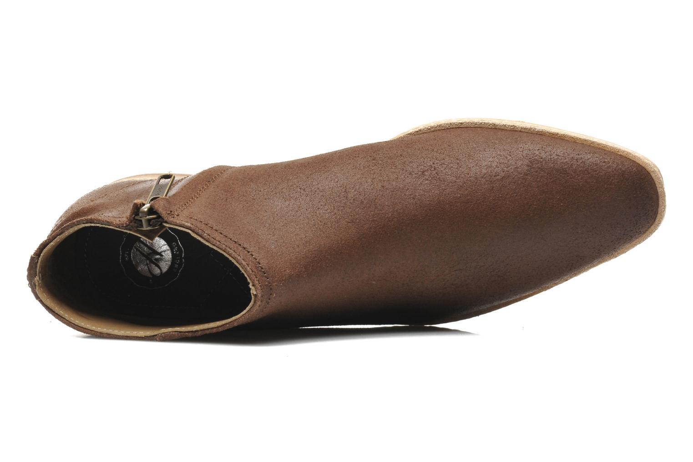 Bottines et boots H By Hudson Shift Marron vue gauche