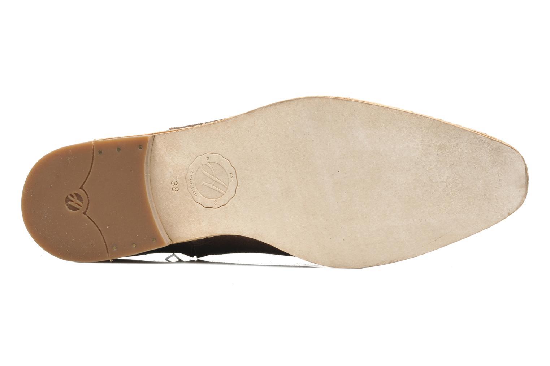 Bottines et boots H By Hudson Shift Marron vue haut