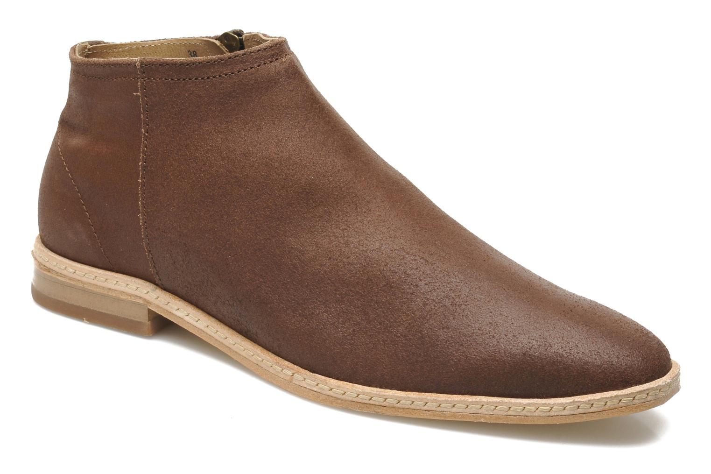 Bottines et boots H By Hudson Shift Marron vue détail/paire