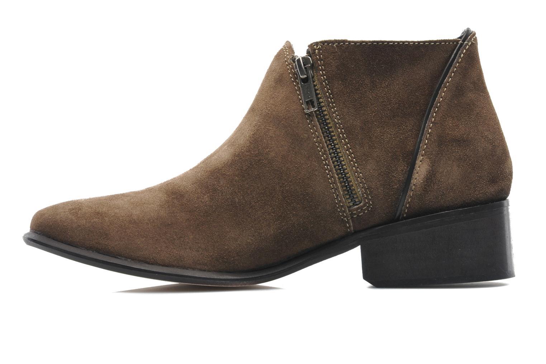 Boots en enkellaarsjes H By Hudson Jilt Bruin voorkant