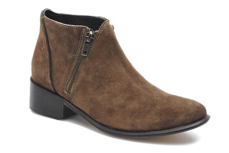 Boots en enkellaarsjes H By Hudson Jilt Bruin detail