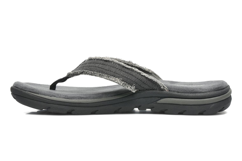 Slippers Skechers Supreme Bosnia 64152 Grijs voorkant