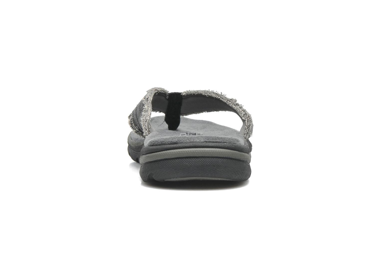 Slippers Skechers Supreme Bosnia 64152 Grijs rechts