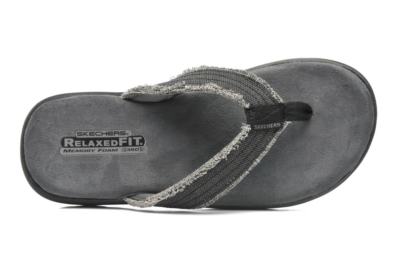 Slippers Skechers Supreme Bosnia 64152 Grijs links