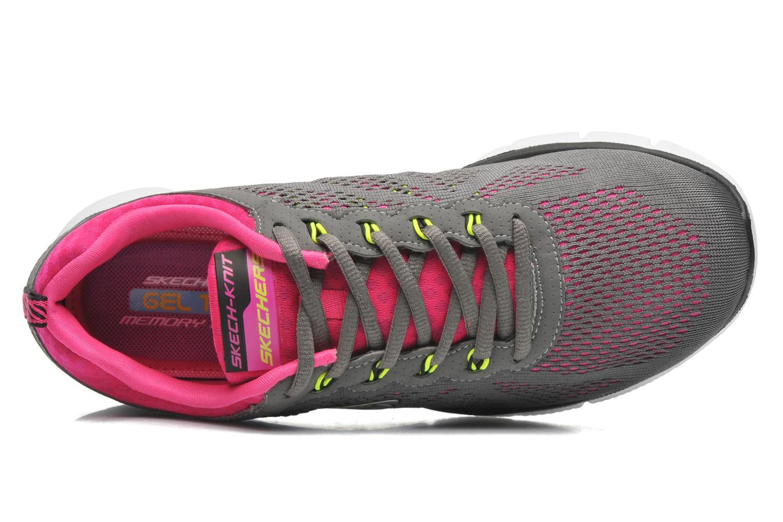 Sneaker Skechers Equalizer New Milestone 11897 grau ansicht von links