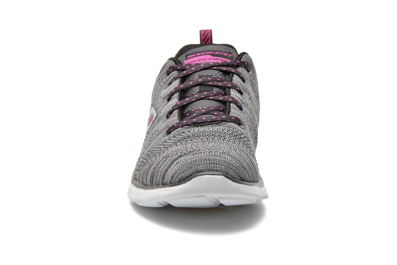 Sneaker Skechers Equalizer First Rate 12033 grau schuhe getragen
