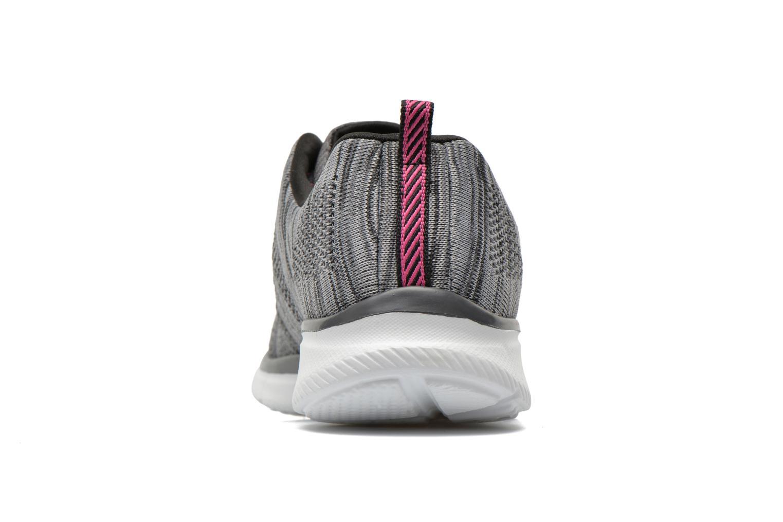 Sneaker Skechers Equalizer First Rate 12033 grau ansicht von rechts