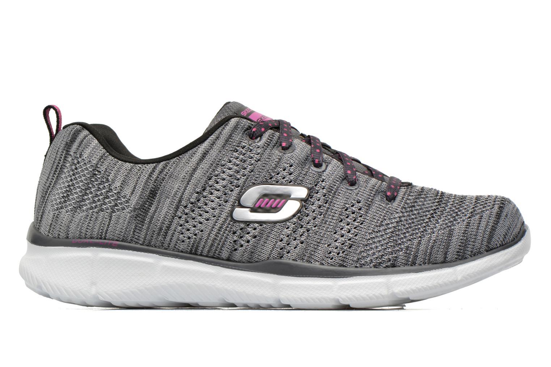 Sneaker Skechers Equalizer First Rate 12033 grau ansicht von hinten
