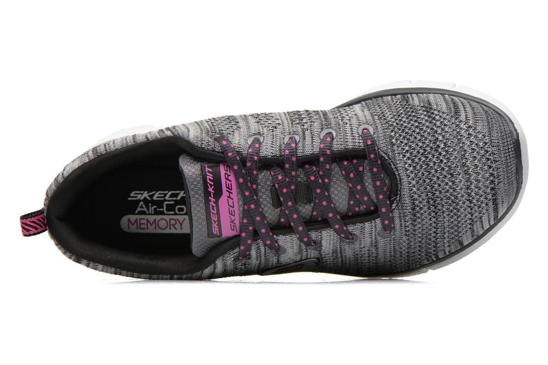 Sneaker Skechers Equalizer First Rate 12033 grau ansicht von links