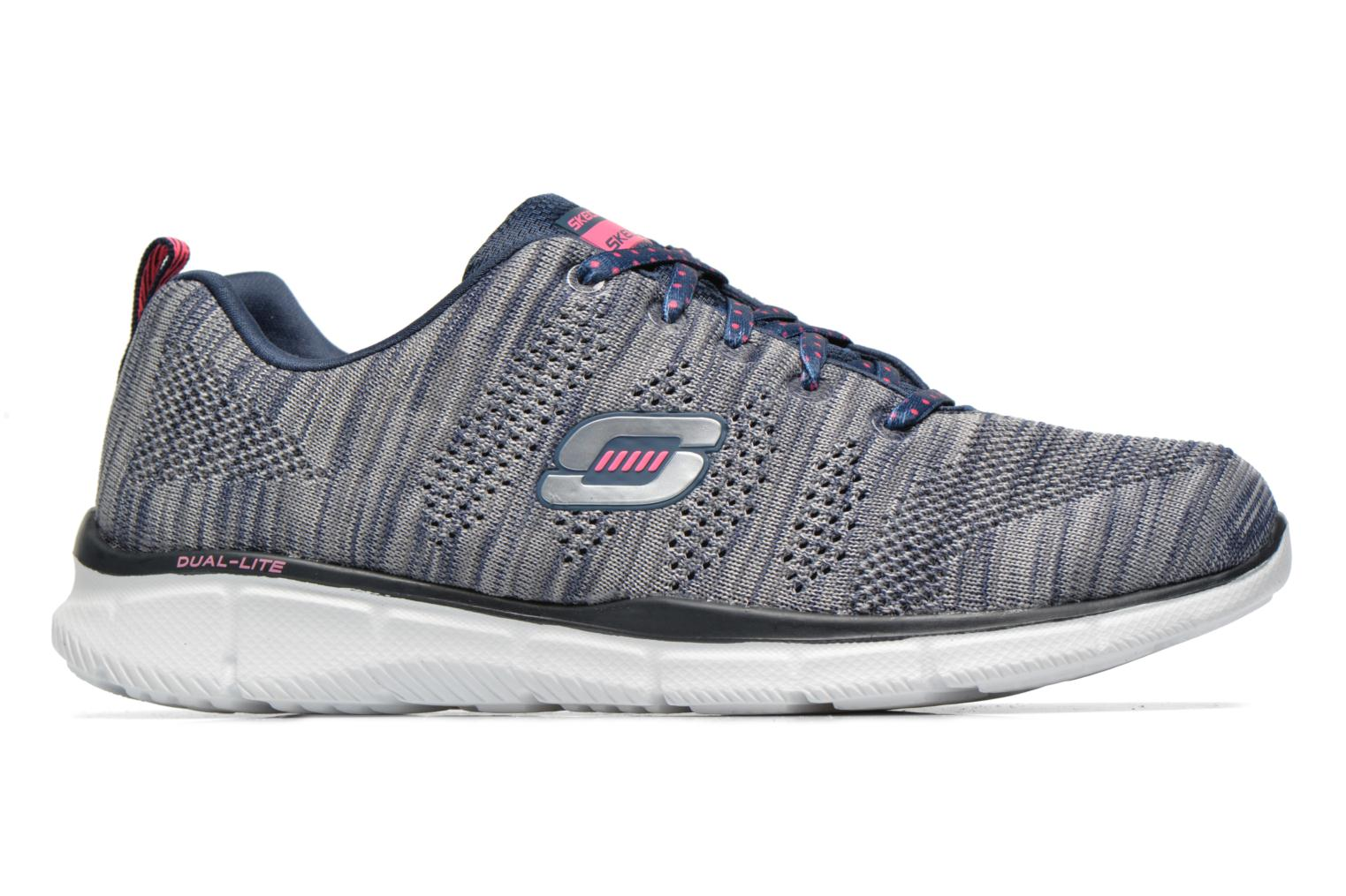 Sneakers Skechers Equalizer First Rate 12033 Grijs achterkant