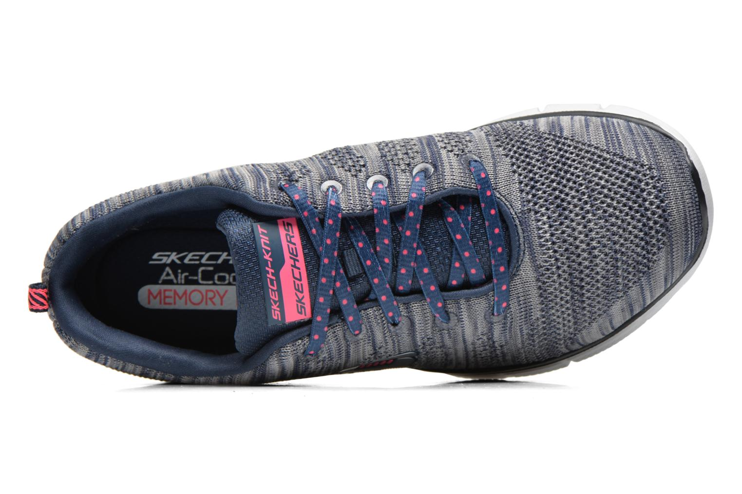 Sneakers Skechers Equalizer First Rate 12033 Grijs links