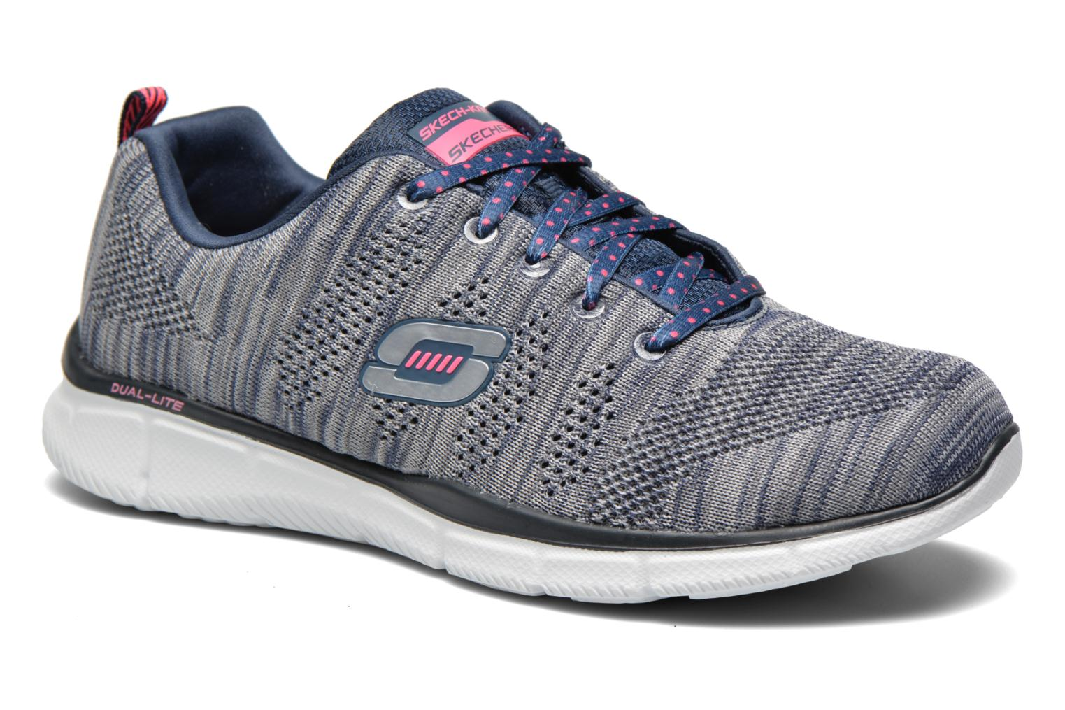 Sneakers Skechers Equalizer First Rate 12033 Grijs detail