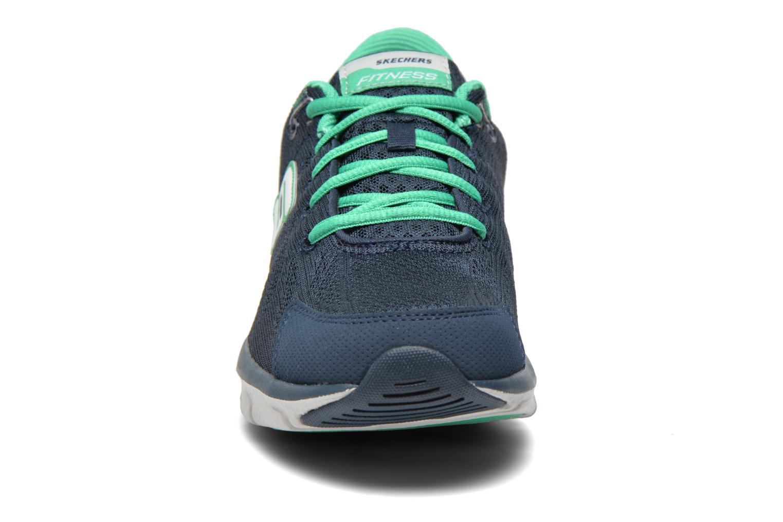 Baskets Shape-Ups Liv 99999830 Bleu vue portées chaussures
