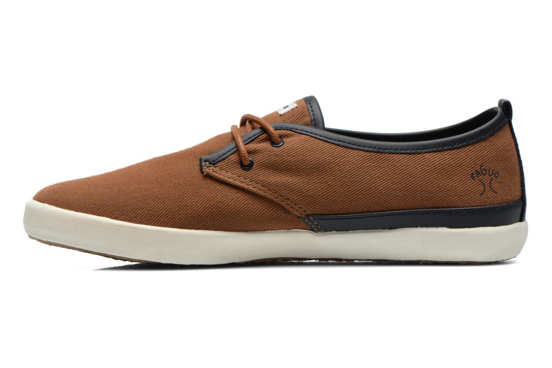 Sneakers Faguo Tea M Bruin voorkant