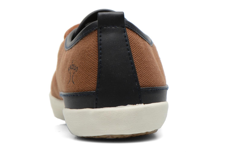 Sneakers Faguo Tea M Bruin rechts