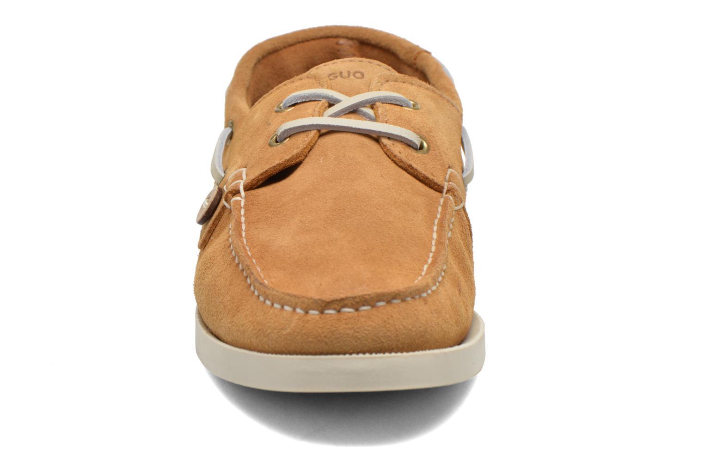 Chaussures à lacets Faguo Larch Beige vue portées chaussures