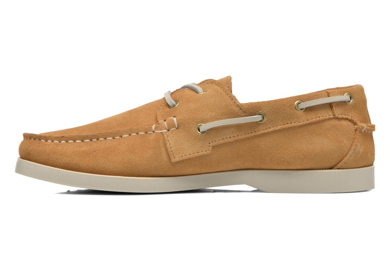 Chaussures à lacets Faguo Larch Beige vue face