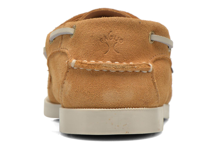 Chaussures à lacets Faguo Larch Beige vue droite