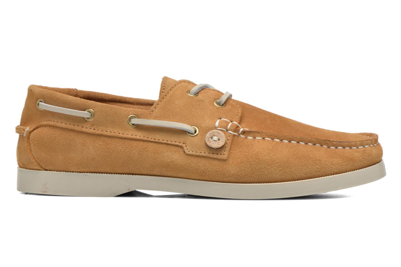 Chaussures à lacets Faguo Larch Beige vue derrière