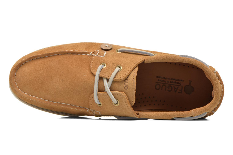 Chaussures à lacets Faguo Larch Beige vue gauche
