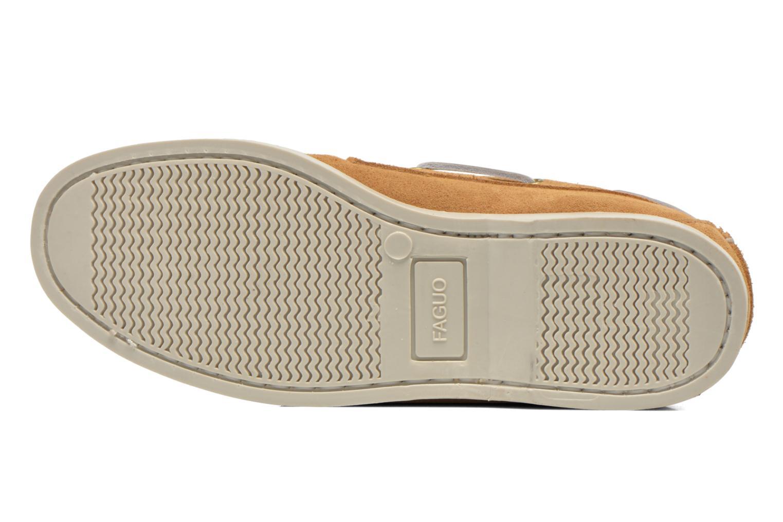 Chaussures à lacets Faguo Larch Beige vue haut